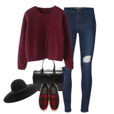 Wine Red Long Sleeve Split Cable Knit Sweater