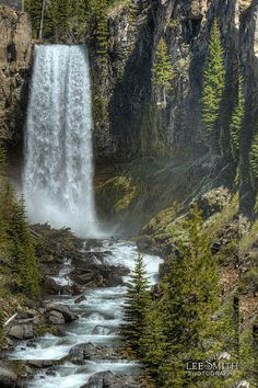 Tumalo Falls near Bend, Oregon by smittysholdings, via Flickr
