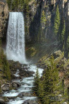 Tumalo Falls near Bend, Oregon by smittysholdings, via Flickr