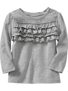 Old Navy | Lace-Ruffled Tees for Baby