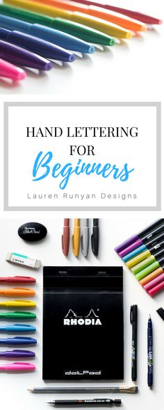Hand Lettering for Beginners- Lauren Runyan Designs @www.mybeautifuleveryday.com