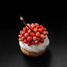 Wild Strawberry Choux - Kevin Ketkaew