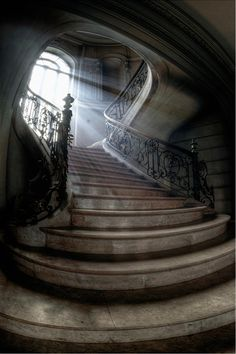 by Aurélien Villette. Reminds me of the house from Casper!