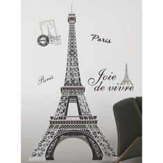 48 best paris city wall decals stickers images on 11470 | 64d11470c80ade380fe2607491b60a81 paris rooms paris eiffel towers