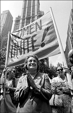 Betty Friedan - The Feminine Mystique turned 50 this week!