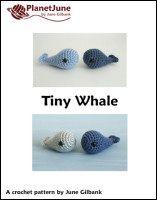 tiny whale crochet pattern