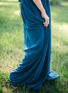blue gown| #blue #wedding #blueweddings