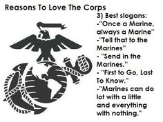 Reasons to Love the Corps Ain't nothin meaner than a Marine 'cept a Marine Mamma!