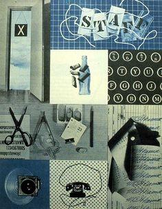 Alvin Lustig, Cover for Look magazine's in-house newsletter, 1944-1945