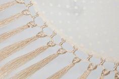 El ropero de Manuela Flamenco Costume, Knots, Weaving, Gold Necklace, Boho, Knitting, My Style, Crafts, Kimono