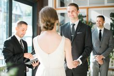 Big Love Wedding Design, Toronto Wedding, Boehmer, intimate restaurant ceremony