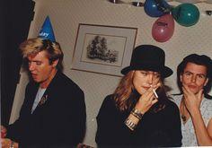 Simon and John at Nick's daughter's 1st Birthay.