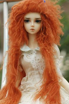 bjd, mohair wigs on etsy
