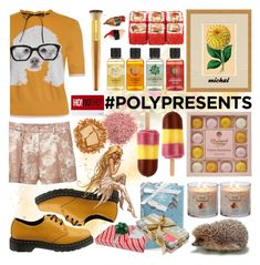 """#PolyPresents: Last-Minute Gifts"" by michal100-15-4 ❤ liked on Polyvore featuring Ballard Designs, Dr. Martens, MANGO, Arthouse Meath, Jouer, Urban Decay, The Body Shop, tarte, contestentry and polyPresents"
