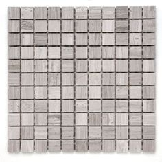 Solistone Haisa Marble 10-Pack Haisa Light Uniform Squares Mosaic Marble Floor and Wall Tile (Common: 12-in x 12-in; Actual: 12-in x 12-in)