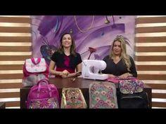Mochila canguru por Adriana Dourado programa Mulher.com parte 2 - YouTube