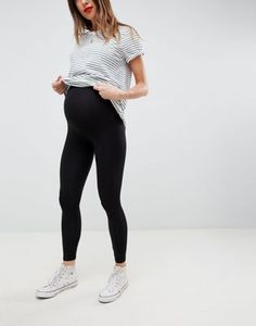 Find the best selection of ASOS DESIGN Maternity over the bump premium supersoft leggings in cotton modal. Shop today with free delivery and returns (Ts&Cs apply) with ASOS! Asos Maternity, Maternity Tops, Maternity Dresses, Maternity Wardrobe, Maternity Styles, Winter Maternity Outfits, Stylish Maternity, Maternity Fashion, Casual Pregnancy Outfits
