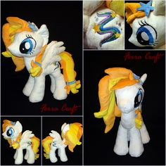 Star Shooter  - OC Plush Pony by FerraCraft.deviantart.com on @DeviantArt
