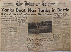 The Johnstown Tribune - World War II: July 29, 1944: Yanks Beat Nazi Tanks in Battle