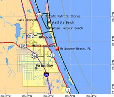 Map Of Melbourne Florida.Map Of Brevard County Merritt Island Cocoa Beach Melbourne To