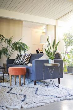 Hope and Pete's Bohemian Modern Abode. This is such a cool home, so similar to our style & many of pieces are similar to pieces we have