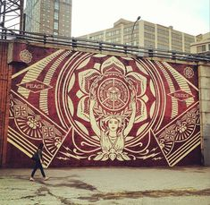 Shepard Fairey Mural | Flickr - Photo Sharing!