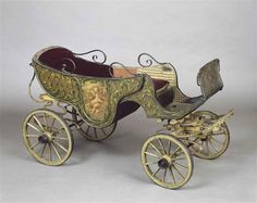 Children's carriage - would usually be pulled by a goat
