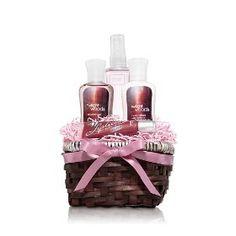 Bath & Body Works Twilght Woods Mini Gift Basket: Includes 2oz Body Lotion, Body Mist, Shower Gel & Lip Gloss
