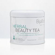Herbal Beauty Tea: Rooibos, Turmeric, Gotu Kola, Strawberry Leaf and so much more! Pretty in. Pretty out. xo