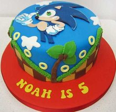 1000 Ideas About Sonic Cake On Pinterest Sonic The