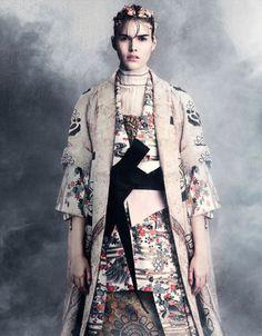 Vanessa Moody by Iango Henzi + Luigi Murenu for Vogue Germany April 2015 9