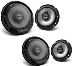 4. Kenwood KFC-1665S Car Audio Coaxial Speaker
