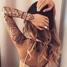1000 idées sur le thème Tatouages Au Henné sur Pinterest | Henné ...