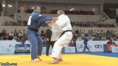Juji Gatame — What a great Kouchi-gari… love the way he set it...