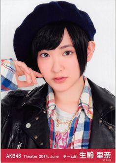 AKB48 Theater 2014.June 生駒里奈