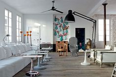 Paola Navone's Apartment in Paris.