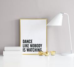 Dance, poster