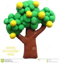 Icon Of Plasticine Tree - Download From Over 47 Million High Quality Stock Photos, Images, Vectors. Sign up for FREE today. Image: 51033943