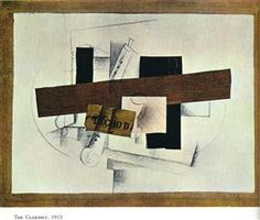The Clarinet (Tenora) - Georges Braque