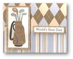 Golf Theme Fathers Day Card by dluxedesigns, via Flickr