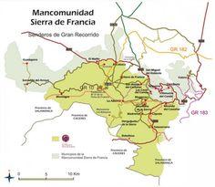 En la Mancomunidad Sierra de Francia hay una amplia y diversa oferta de senderos señalizados idóneos para conocer mejor las peculiaridades y bellezas de la comarca.
