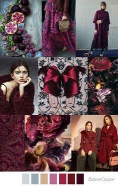 Colour Magic: Pomegranate Punch (Source: Pattern Curator)
