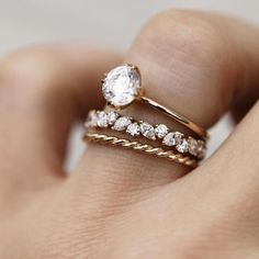 Curved Wedding Band women vintage rose gold Diamond Ring Unique Bridal set stacking Delicate matching band Promise Anniversary gift for her - Fine Jewelry Ideas marquise cluster – Consider the Wldflwrs Eternity Ring Diamond, Eternity Bands, Diamond Bands, Vintage Eternity Ring, Halo Diamond, Morganite Engagement, Engagement Ring Settings, Diamond Engagement Rings, Wedding Band Engagement Ring