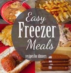 Our Favorite Freezer Meals for Dinner