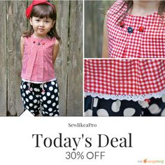 Today Only! 30% OFF this item.  Follow us on Pinterest to be the first to see our exciting Daily Deals. Today's Product: Sale - 30 Days- 30 Bargains Cropped Top PDF Sewing Pattern - The Lily Buy now: https://www.etsy.com/listing/290986051?utm_source=Pinterest&utm_medium=Orangetwig_Marketing&utm_campaign=Daily%20Deal   #etsy #etsyseller #etsyshop #etsylove #etsyfinds