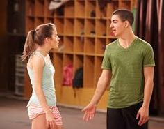 james and riley the next step The Next Step, Step Up, Le Studio Next Step, Family Channel, Dance Academy, Best Shows Ever, Favorite Tv Shows, Cute Couples, Tv Series