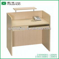 R040 cheap simple design MFC office small reception desks