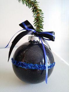 Hey, I found this really awesome Etsy listing at https://www.etsy.com/listing/208632610/thin-blue-line-ornament-police-ornament