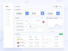 Admin CRM dashboard by @divan_raj | Found on @dribbble⠀ .⠀ .⠀ .⠀ .⠀ .⠀ .⠀ .⠀ #uxigers #ux #ui #uxdesign #uidesign #uitrends #design…