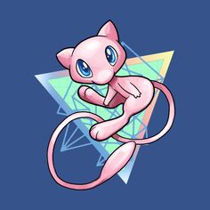 Shop MEW pokemon t-shirts designed by Irissempi as well as other pokemon merchandise at TeePublic. Pokemon W, Pokemon Eeveelutions, Pokemon Fan Art, Pokemon Images, Pokemon Pictures, Tattoo Geek, Pokemon Painting, Mew And Mewtwo, Deadpool Pikachu